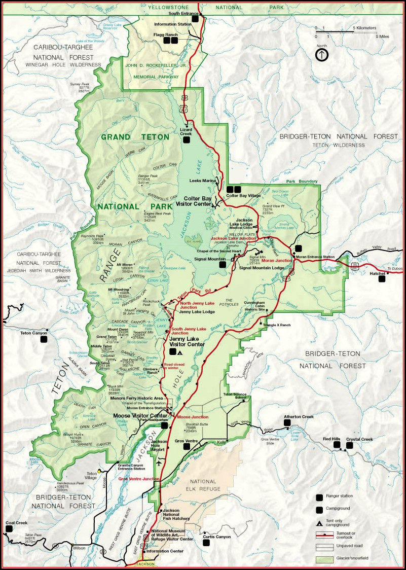 Grand Teton National Park Directions