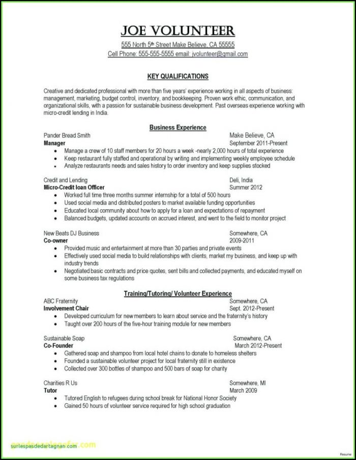 Guide Resume Cover Letter