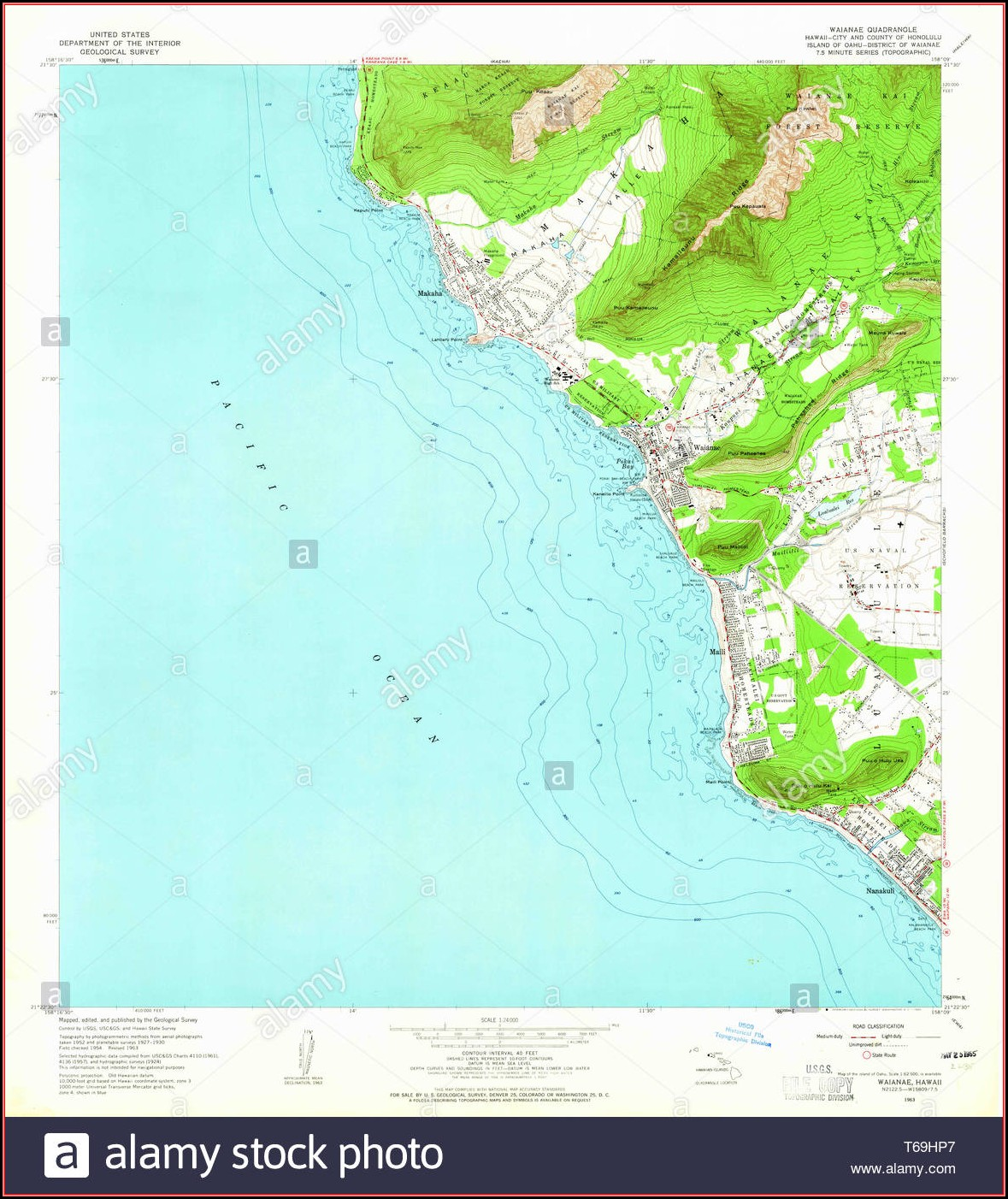 Hawaii Topo Map