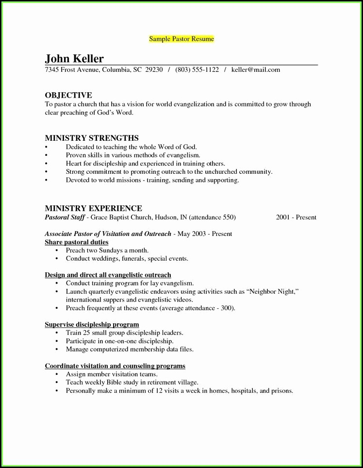 Healthcare Executive Resume Samples