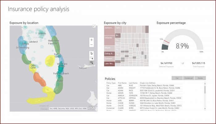 Heat Map By Zip Code Power Bi