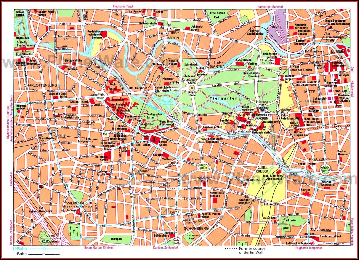 Hop On Hop Off Bus Berlin Map