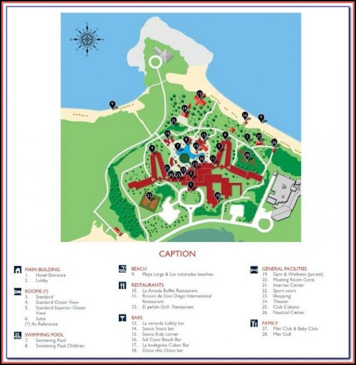 Hotel Colonial Cayo Coco Map