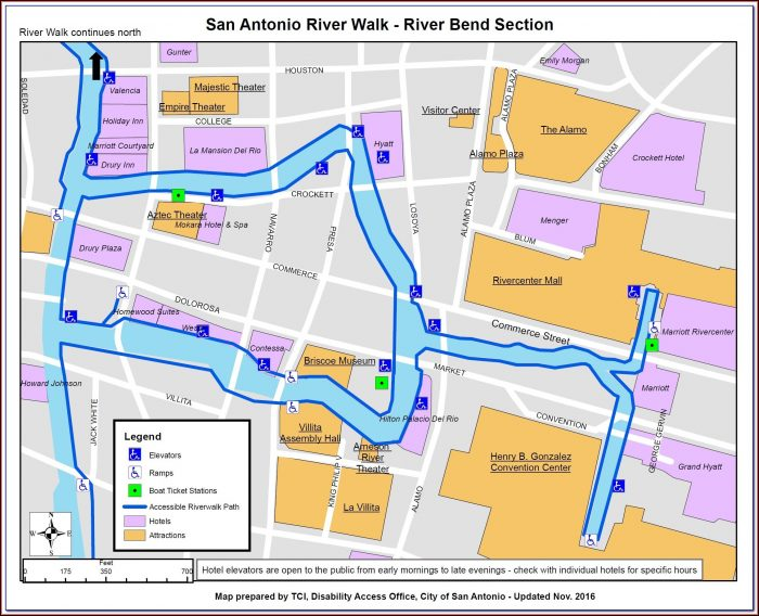 Hotel Indigo San Antonio Riverwalk Map