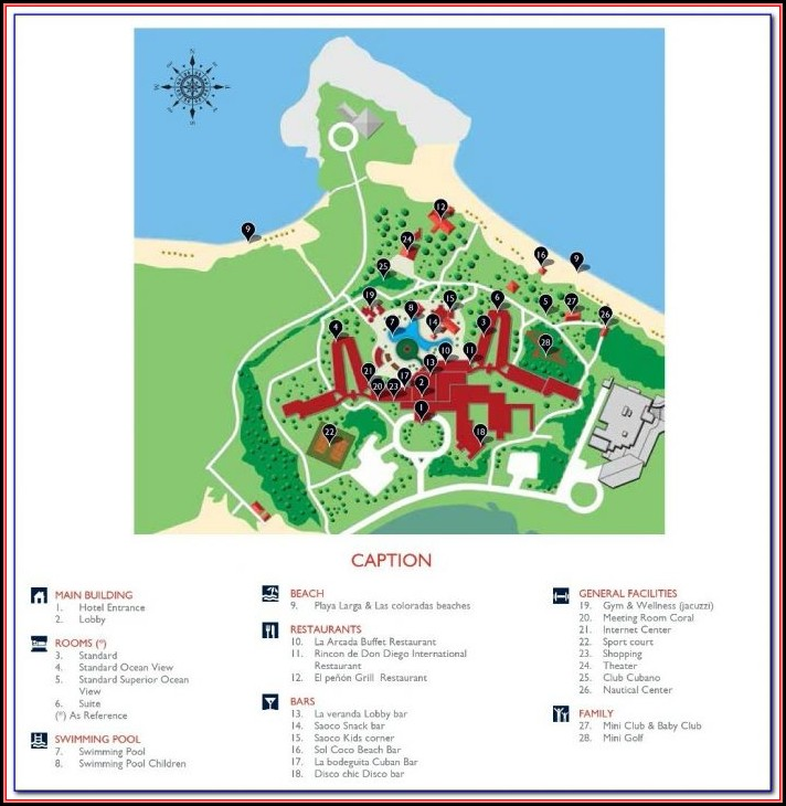 Hotels In Cayo Coco Map