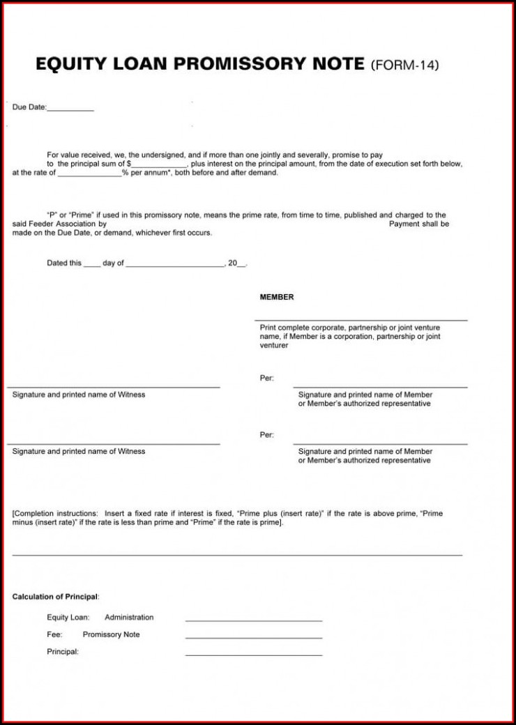 Illinois Secured Promissory Note Template