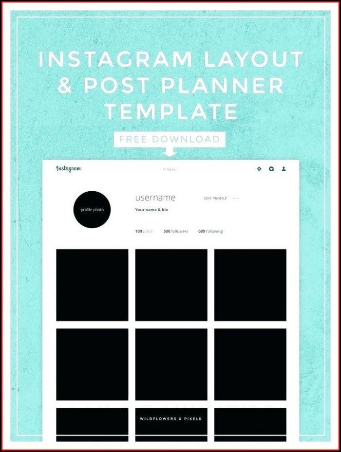 Instagram Frame Prop Template Download