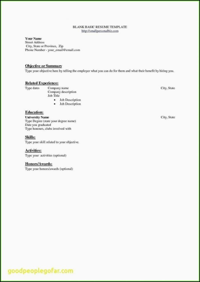 Job Resume Samples Objectives