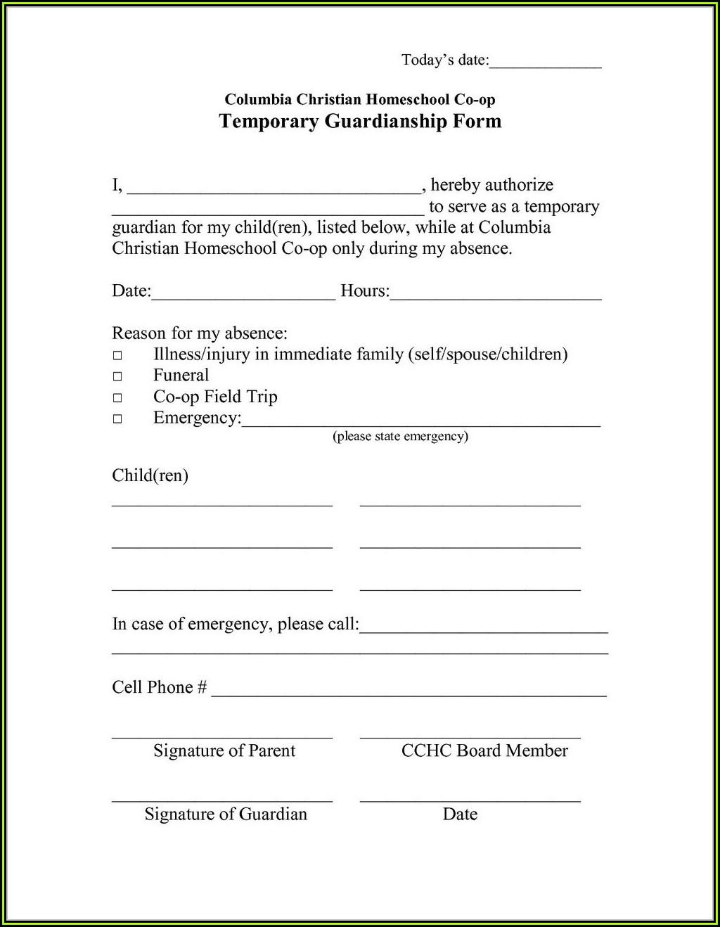 Kansas Guardianship Forms