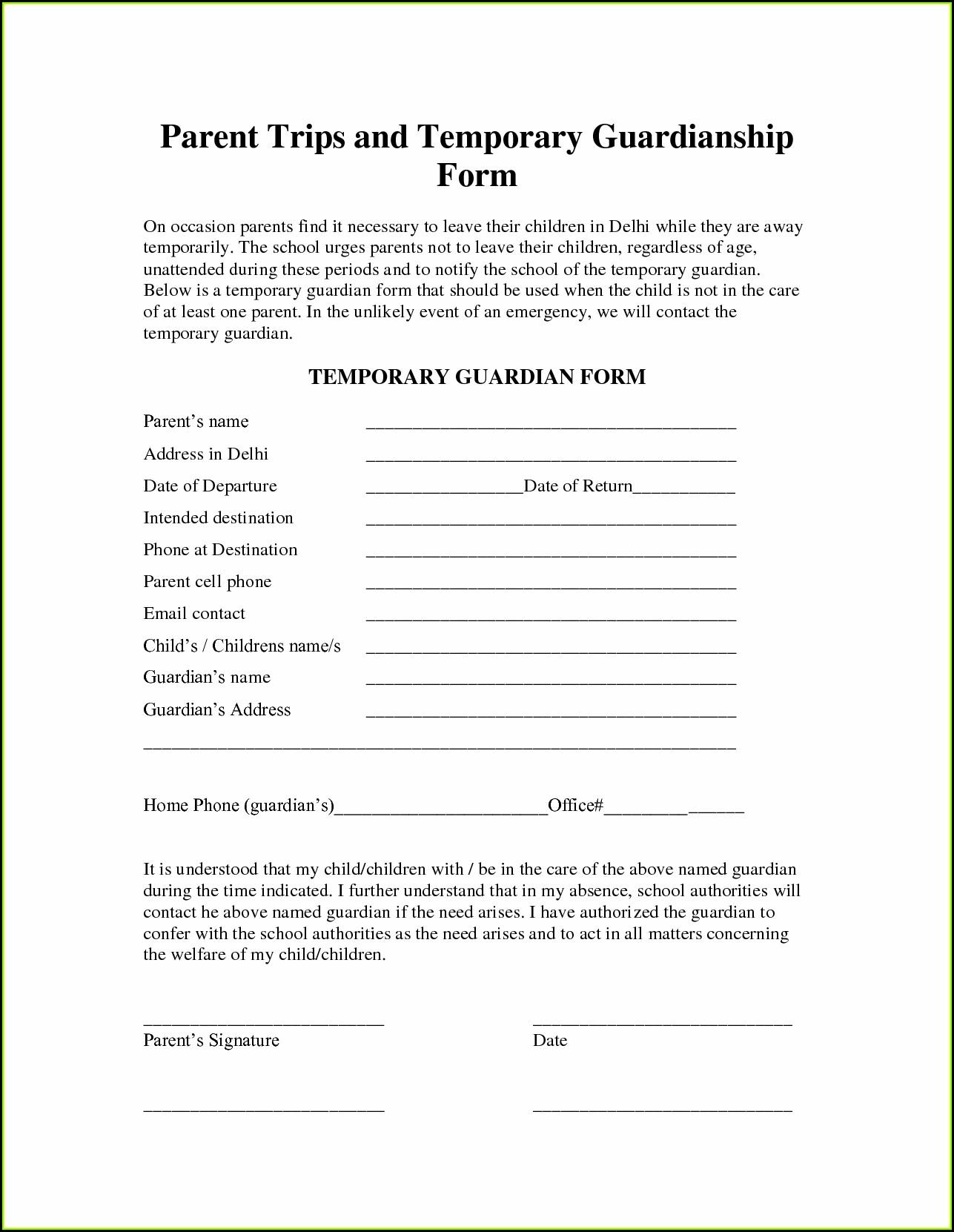 Kansas Guardianship Program Forms