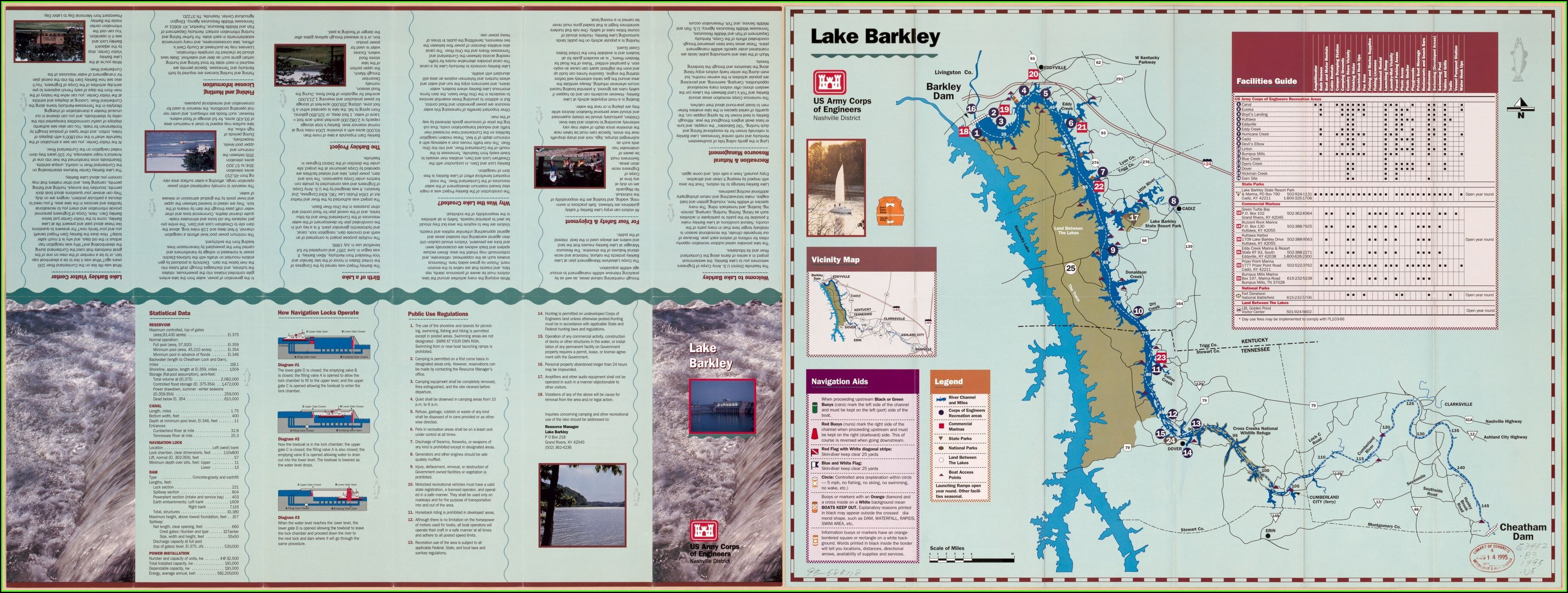 Lake Aldred Fishing Map