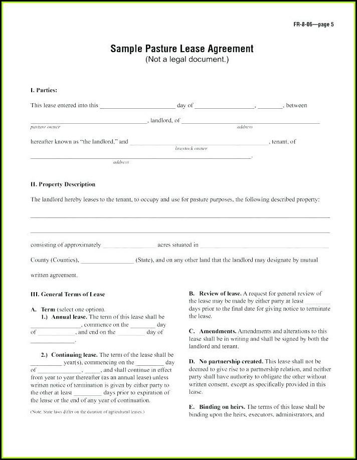 Landlord Tenant Agreement Form Alberta