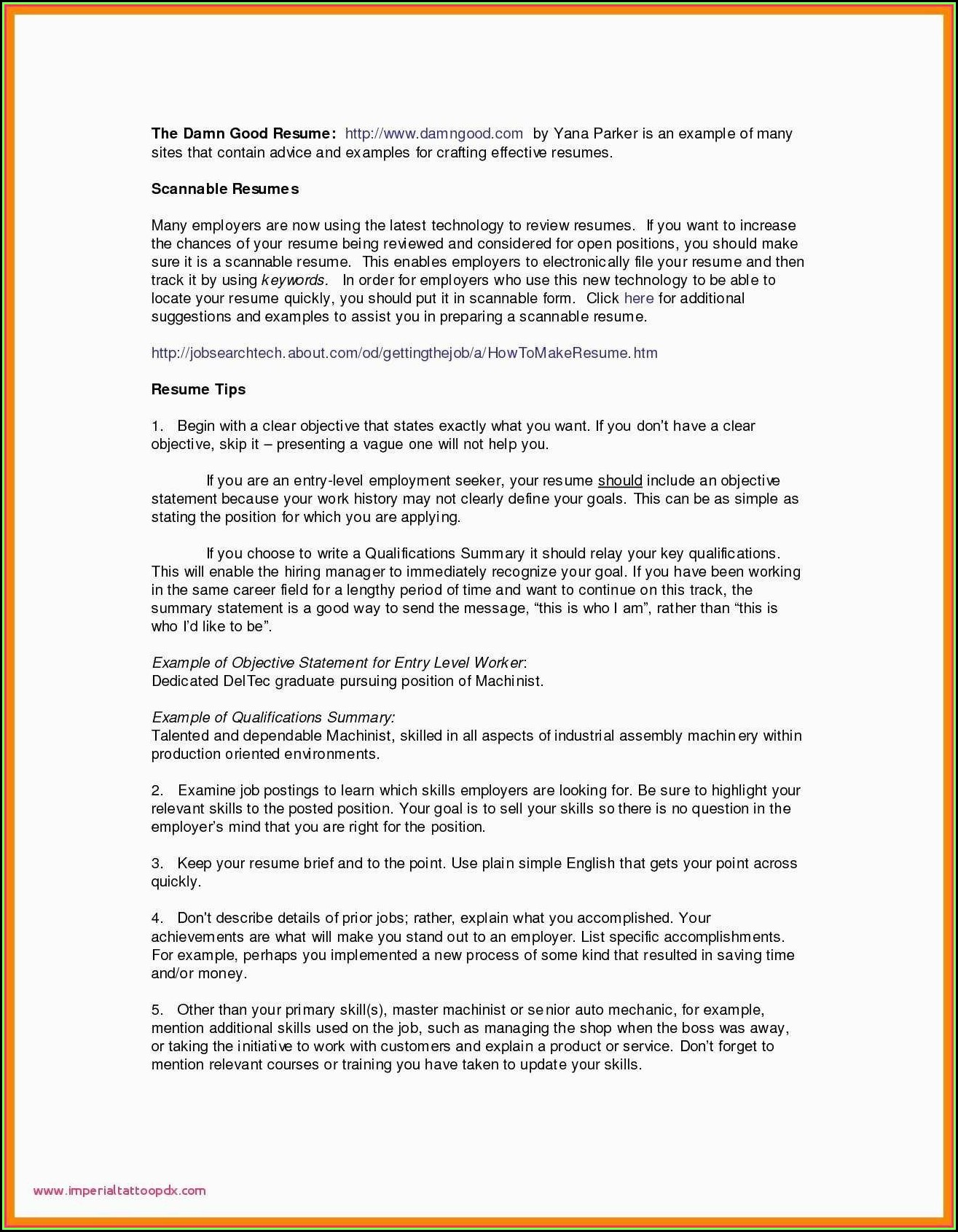 Law Resume Writers