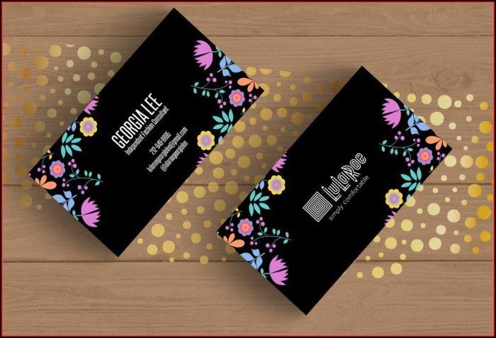 Lularoe Business Card Template