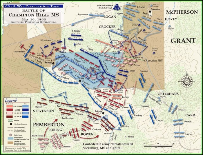 Map Of Civil War Battles In Illinois