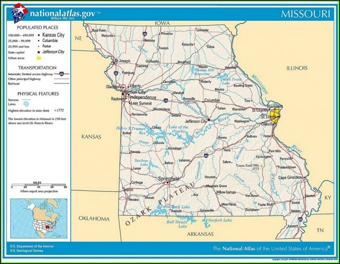 Map Of Civil War Battles In Missouri