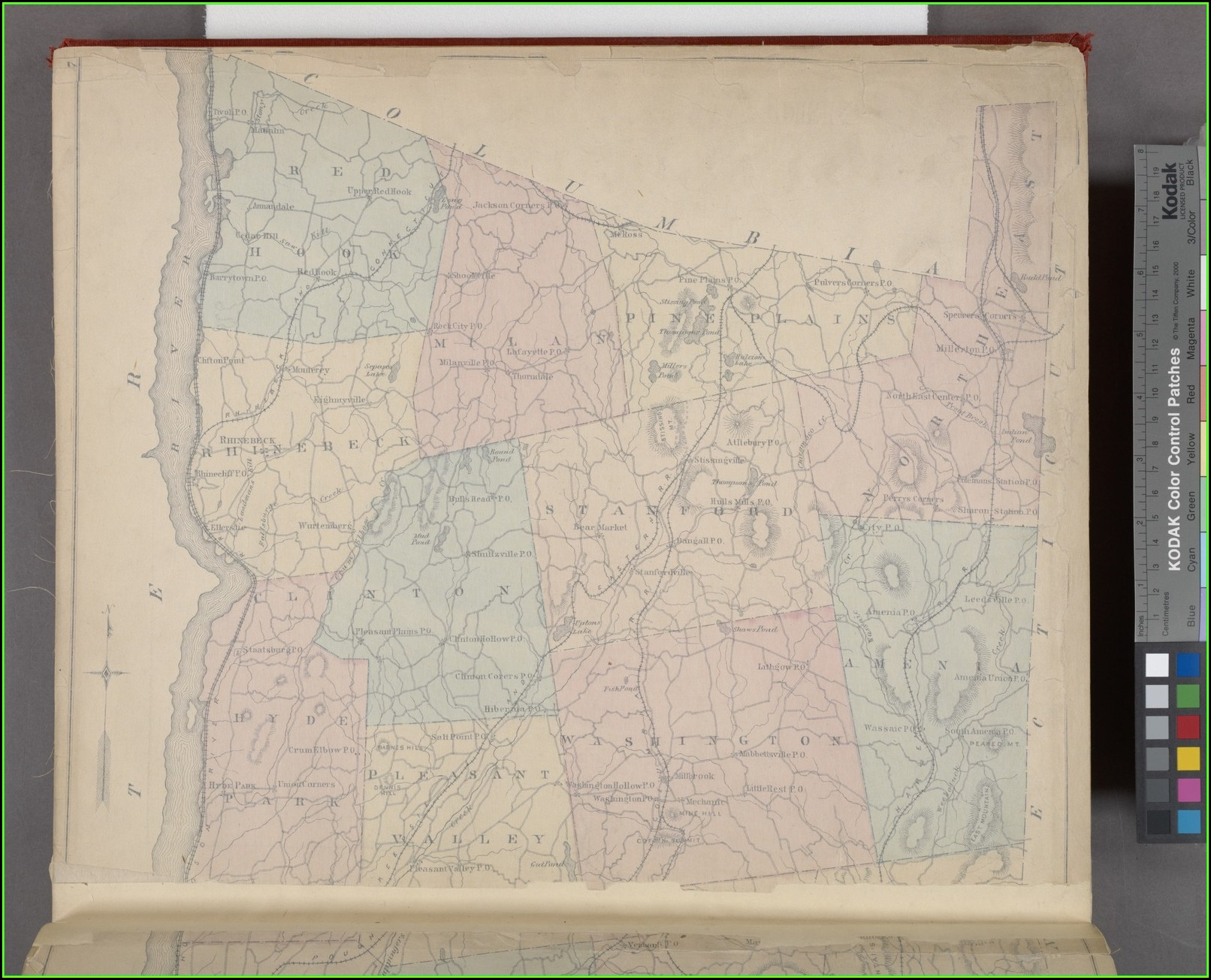 Map Of Dutchess County New York