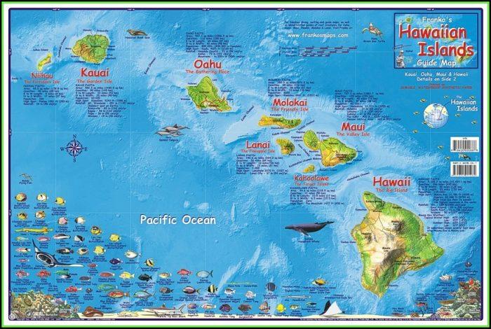Map Of Kauai Hawaii Hotels