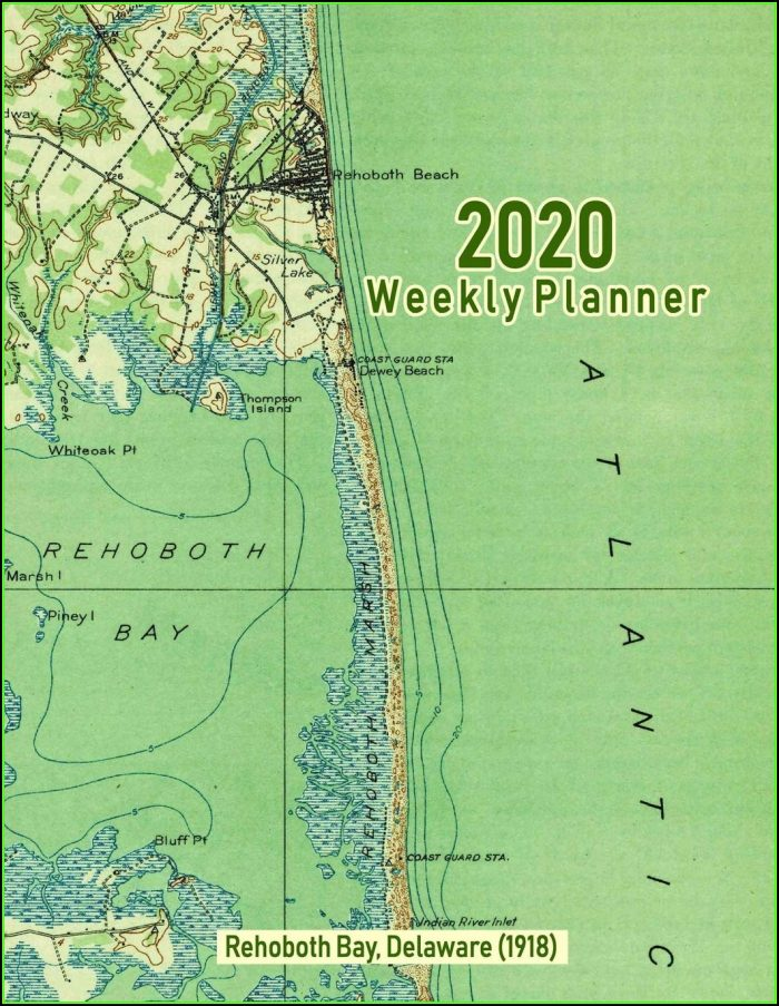 Map Of Rehoboth Bay Delaware