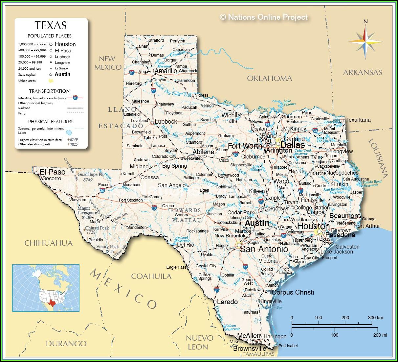 Map Of The Dallas Metroplex