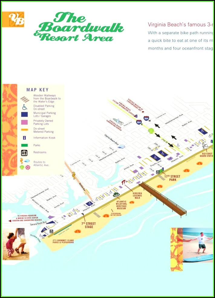 Map Of Virginia Beach Hotels Map Resume Examples