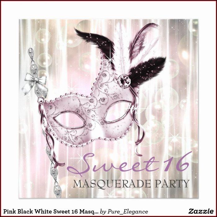 Masquerade Invitation Template Free Download