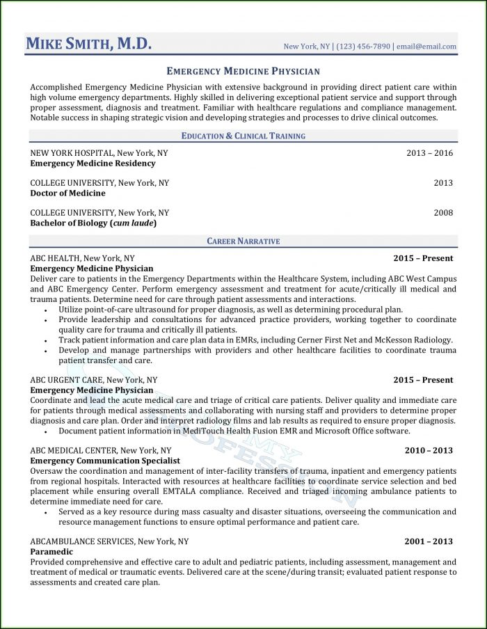 Medical Device Resume Writers