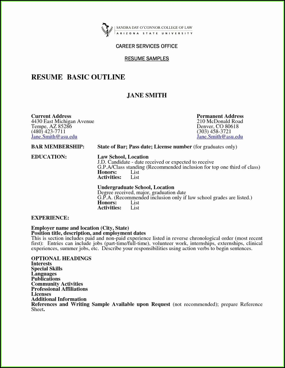 Michigan Talent Bank Resume Builder
