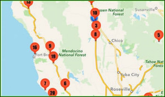Minnesota Rv Parks Map