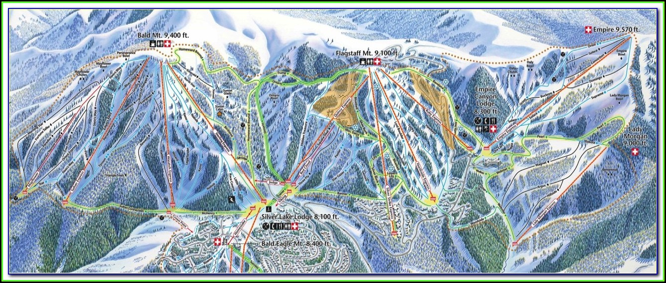 Montage Deer Valley Hotel Map