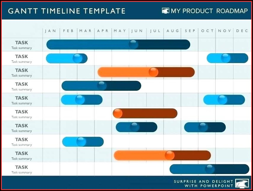 Multiple Product Roadmap Template Excel