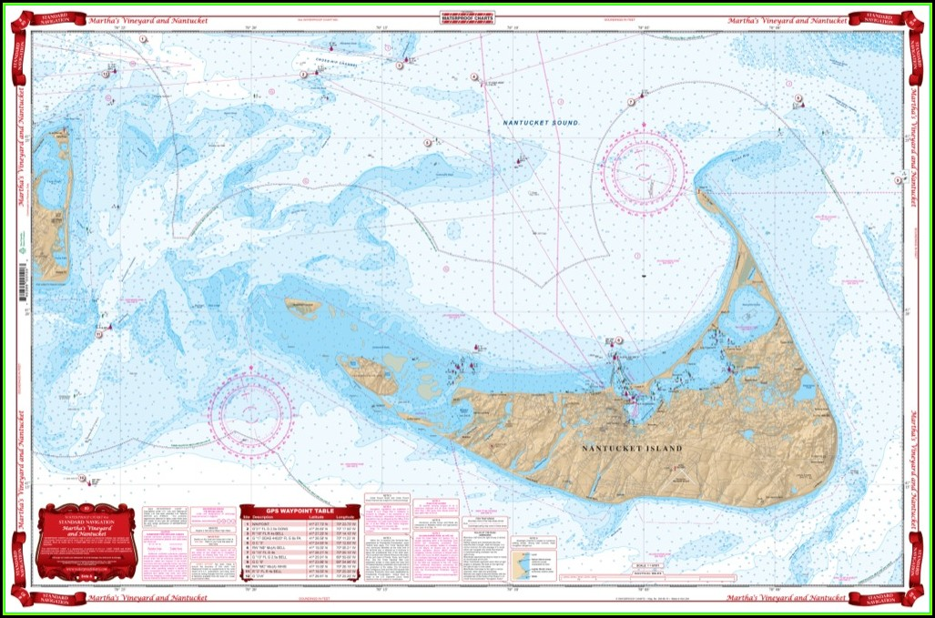 Nantucket Nautical Chart