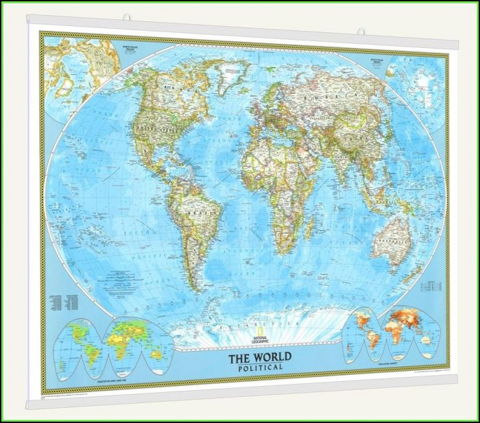 National Geographic Classic World Map