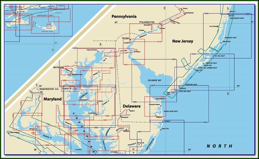 nautical-map-of-delaware-bay  C Form Examples on deadline for, still needed for, what is,