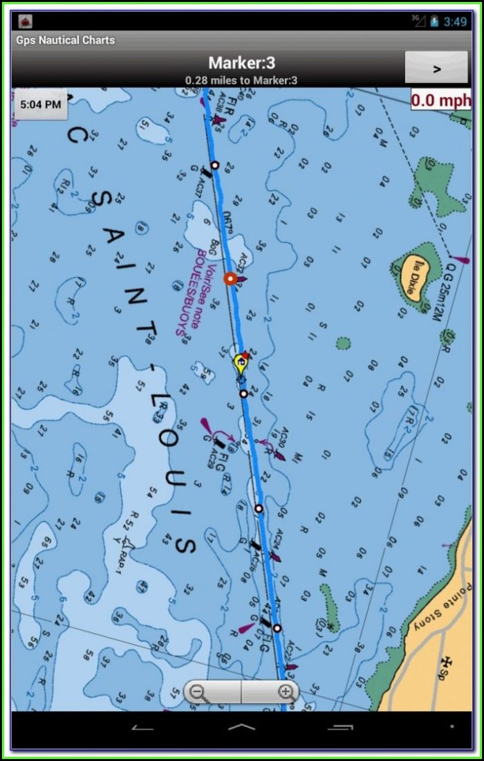 Nautical Maps Canada Free