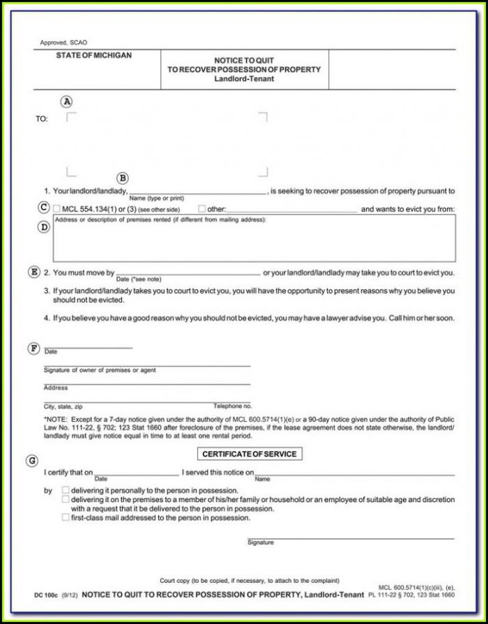 Nys Eviction Forms