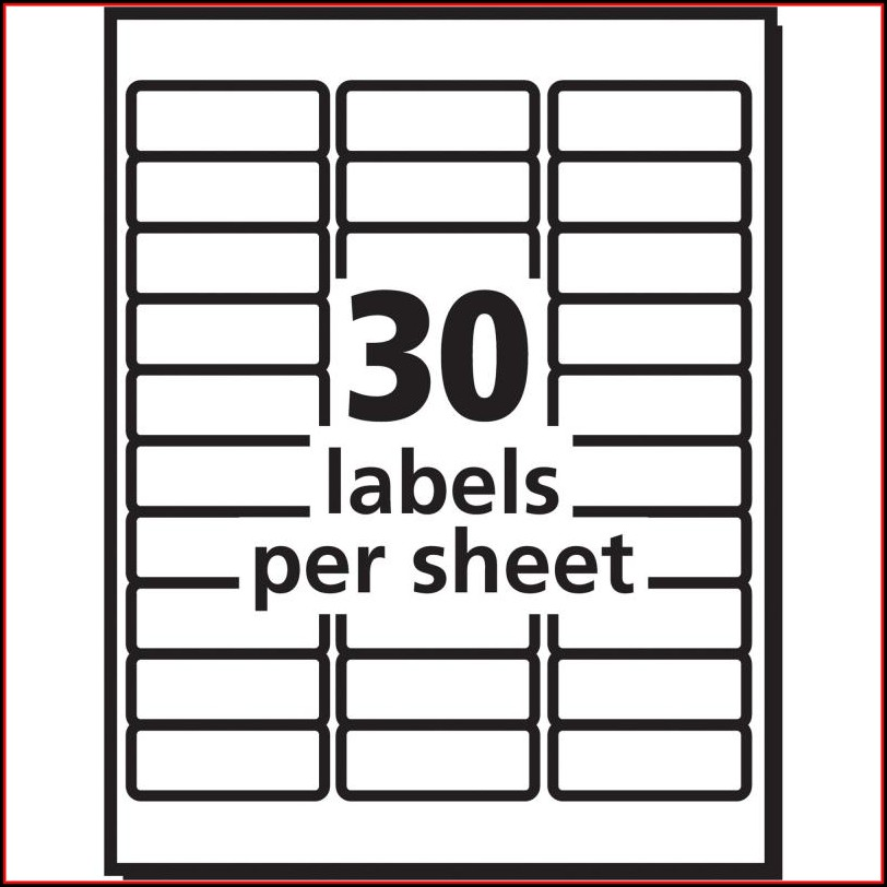 Office Depot Address Label Template 612 231