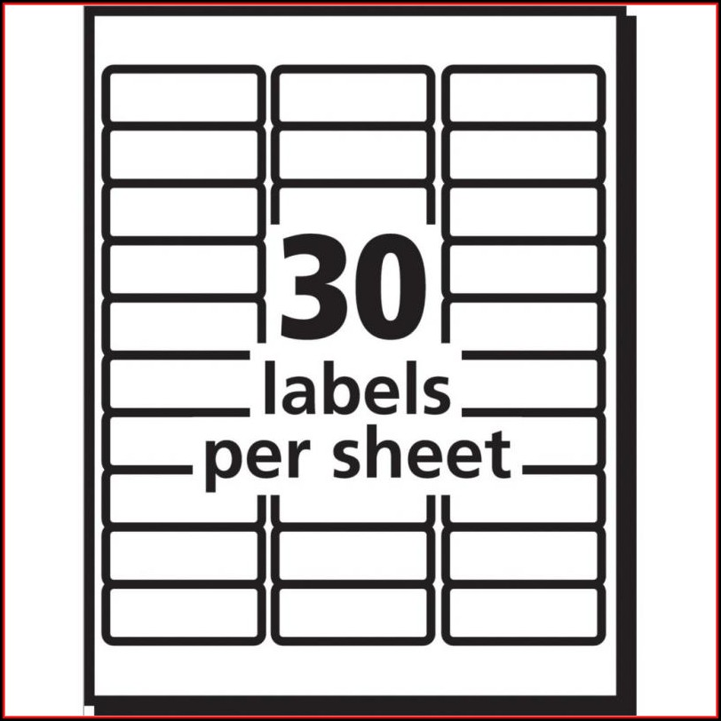 Office Depot Address Label Template