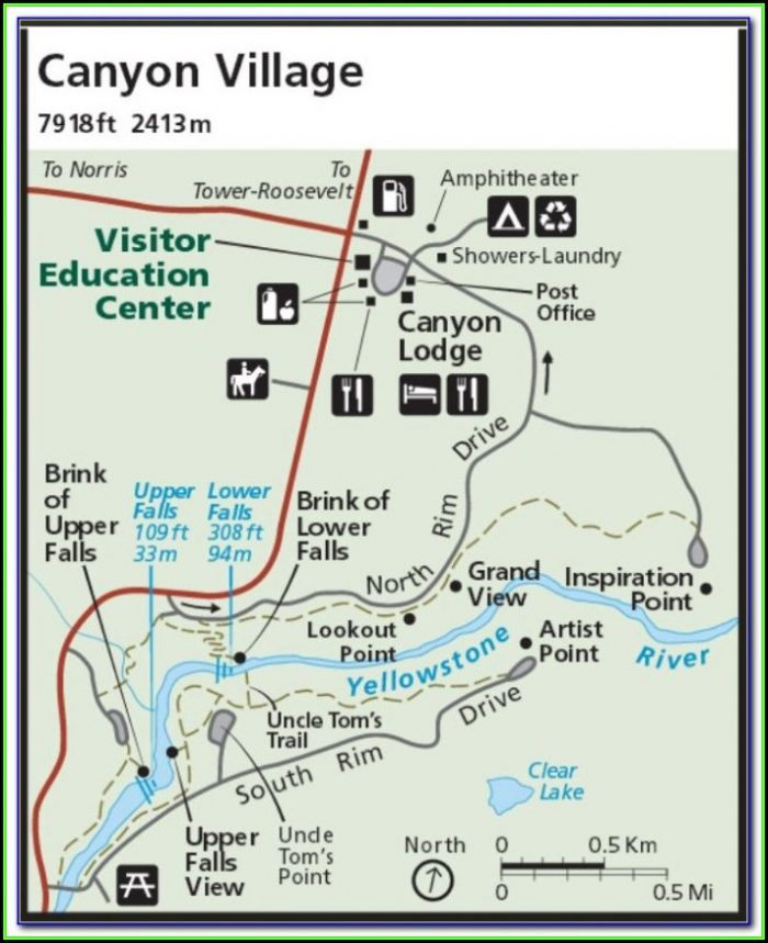 Old Maps Of Yellowstone National Park