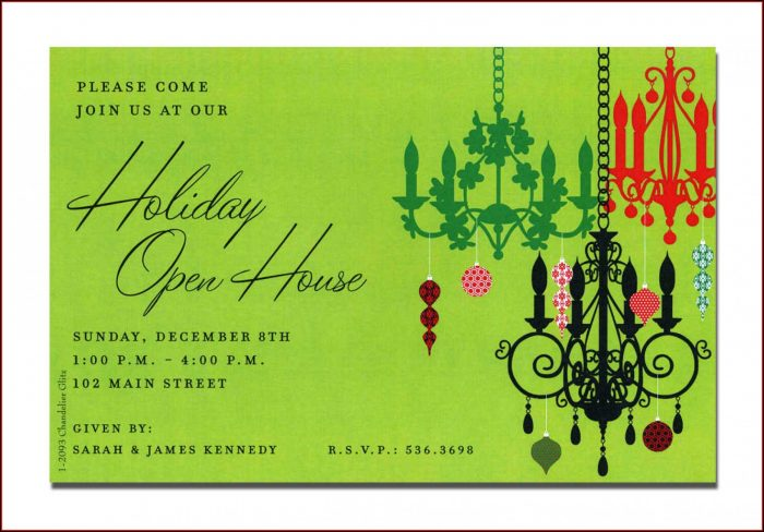 Open House Invitation Templates Free