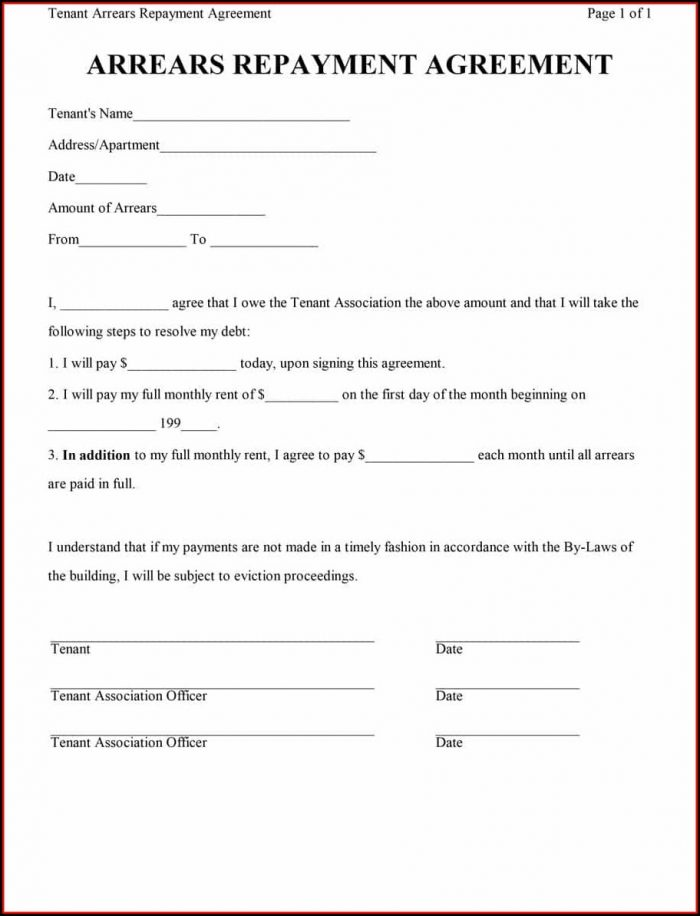 Personal Loan Agreement Contract Template