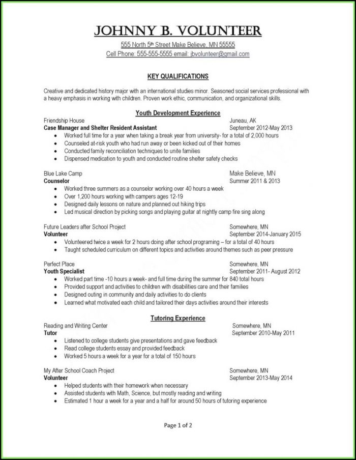 Phlebotomy Resume Template Free