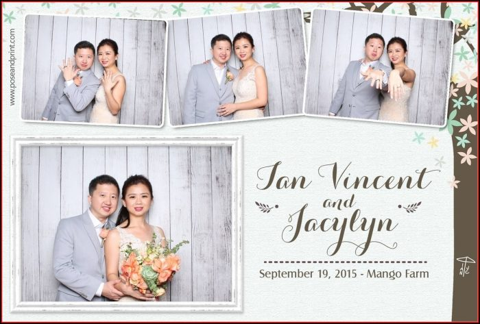 Photo Booth Strip Template Wedding