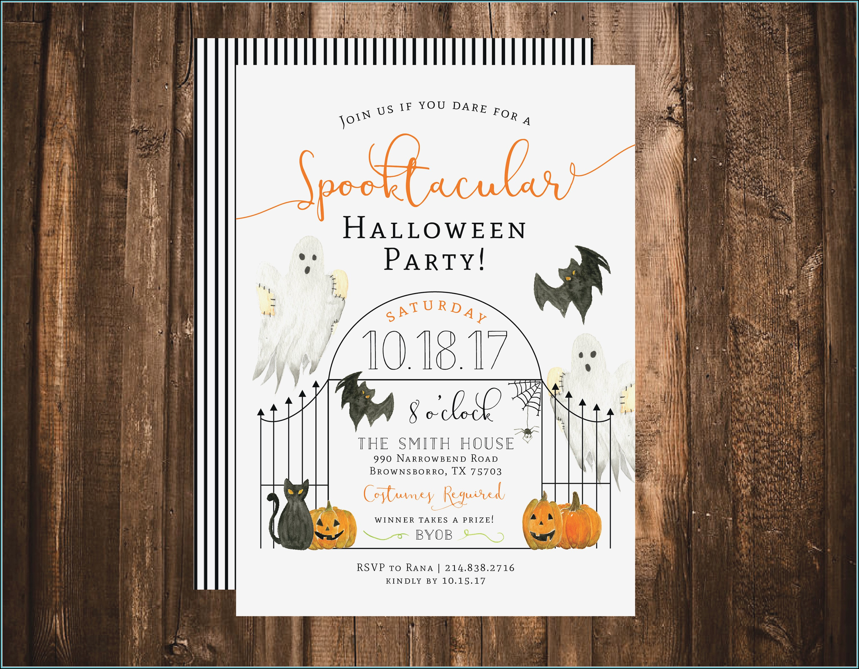 Potluck Invitation Template Word