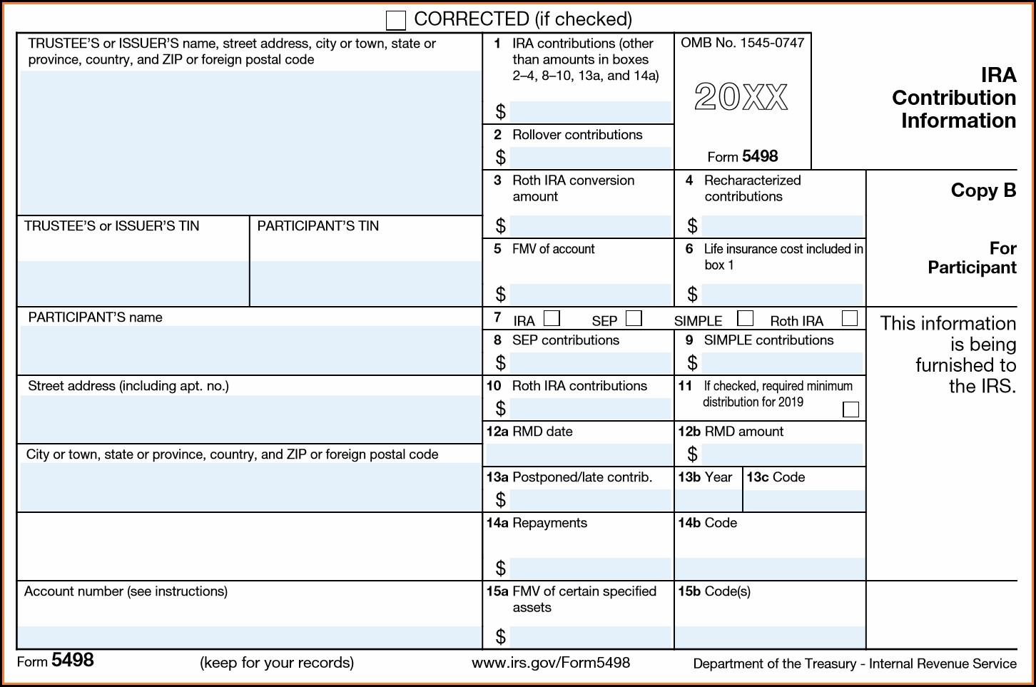 Printable Irs Form 1099 R