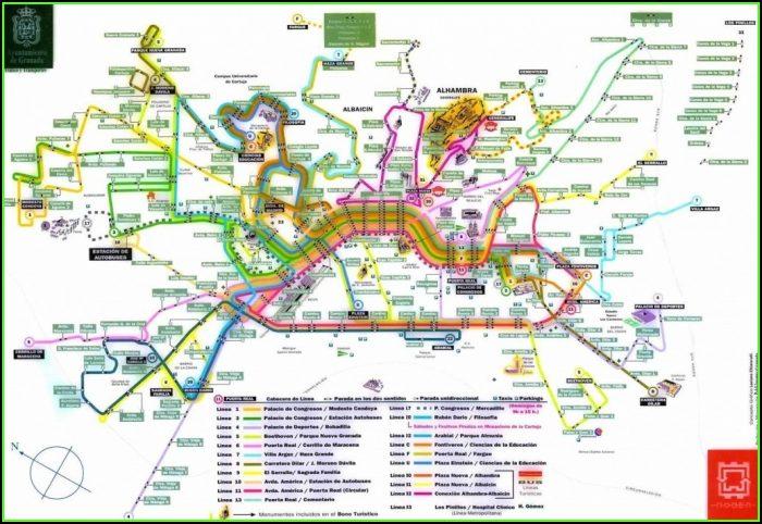 Printable Street Map Of Nerja Spain