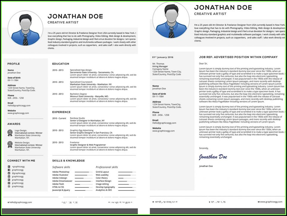 Professional Resume Templates Free Download Word