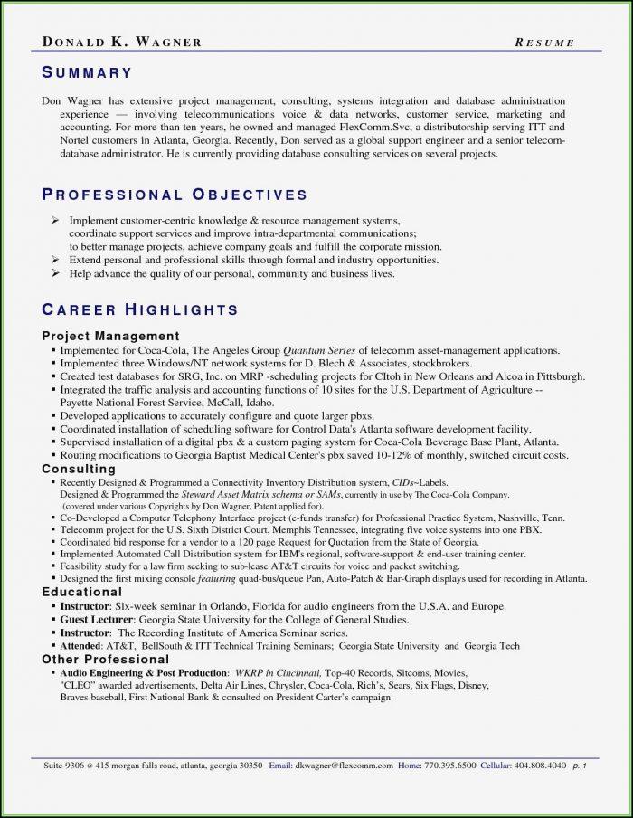 Professional Resume Writers Atlanta
