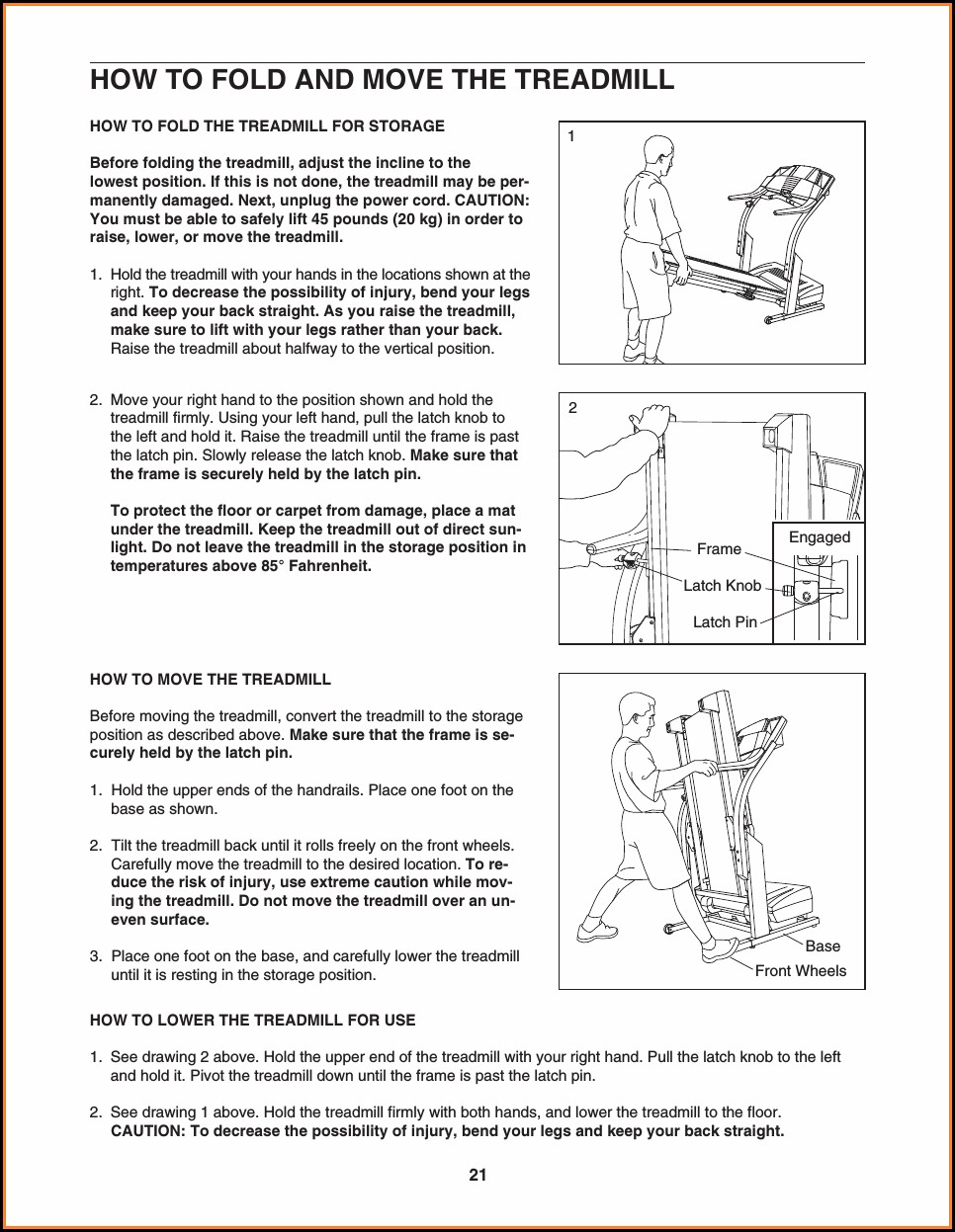 Proform 580x Treadmill Manual