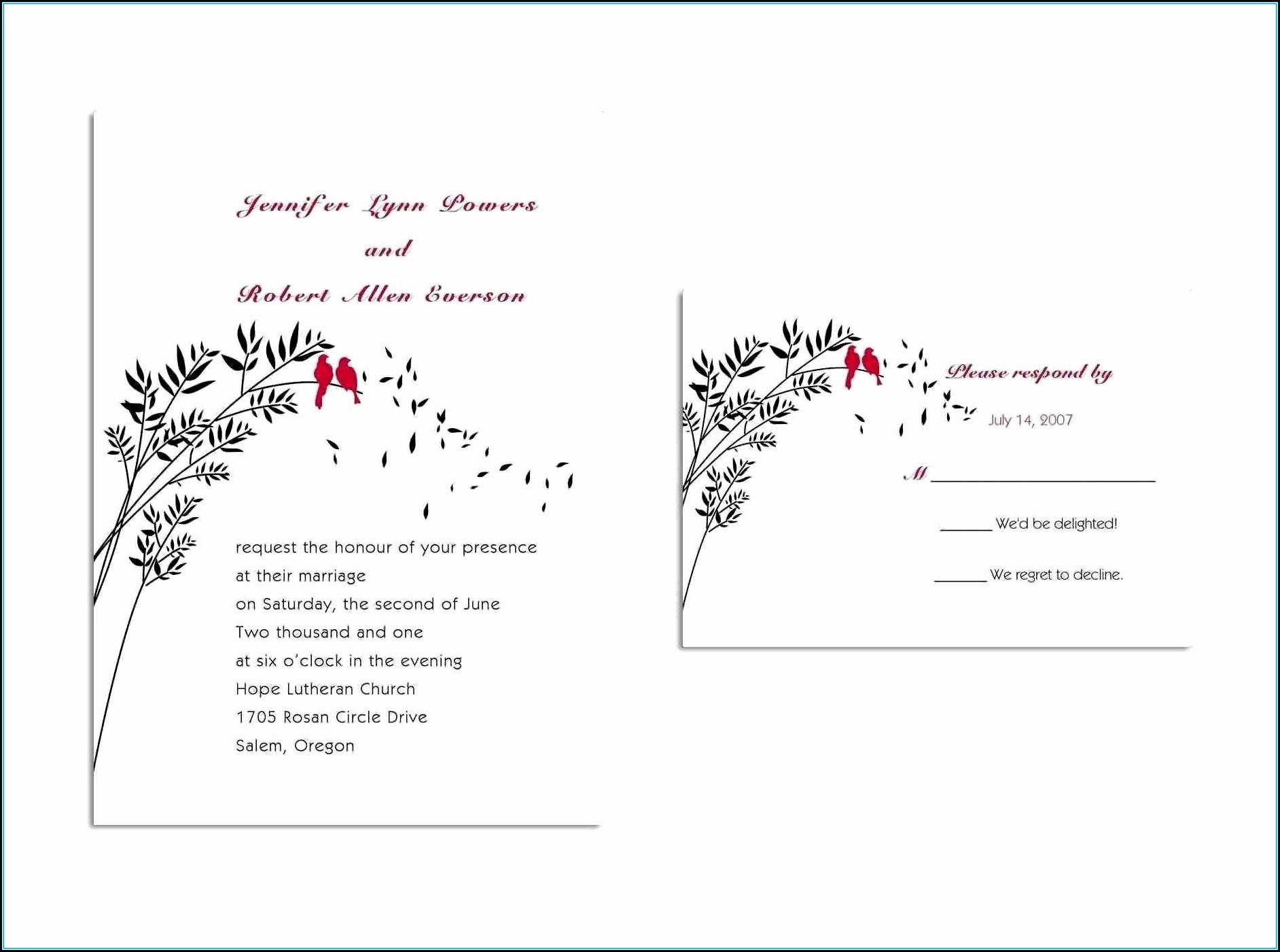 Qsl Card Design Template